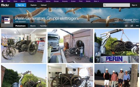 Screenshot of Flickr Page flickr.com - Flickr: Perin Generators' Photostream - captured Oct. 22, 2014