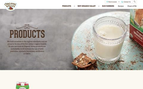 Our Products | Buy Organic Valley Near You