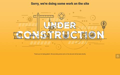 Screenshot of Blog arizonaipadrepair.com - Phoenix iPad and IPhone Repair Specialist is under construction - captured June 2, 2018