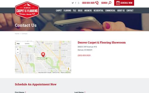 Contact | Denver Carpet & Flooring