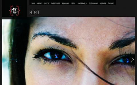 Screenshot of Team Page eyeclecticmedia.net captured Oct. 3, 2014