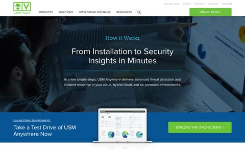 How it Works - AlienVault USM Anywhere
