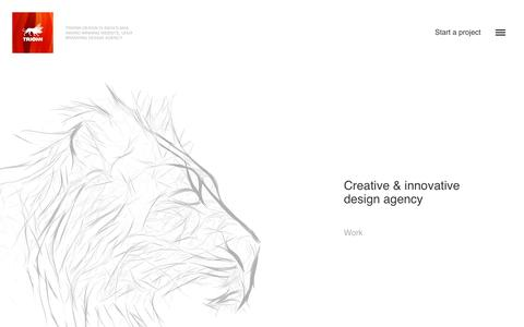 Trionn Design - The award winning design & development agency