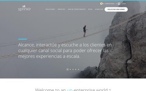 Sprinklr - Social Media Management - Customer Experience | Sprinklr