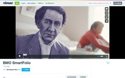 BMO SmartFolio on Vimeo