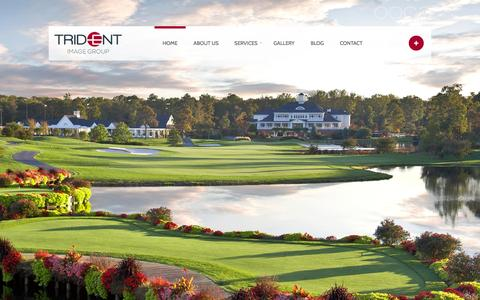 Screenshot of Testimonials Page golfscapeagency.com - Trident Image Group | Because Image Matters - captured Oct. 3, 2014