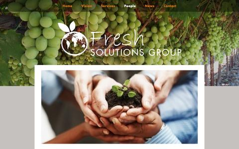 Screenshot of Team Page freshsolutionsgroup.com.au - People — Fresh Solutions Group - captured Sept. 30, 2014