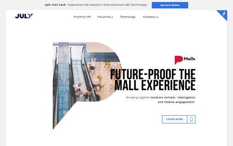 Shopping Malls Location Based - Indoor LBS Platform & Location Based Marketing
