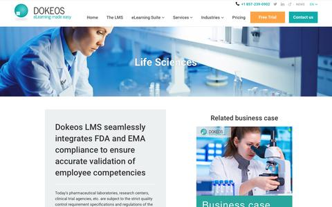 Life Sciences -FDA Compliant LMS and E-learning Suite
