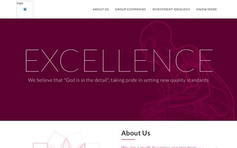 Screenshot of Home Page chimesgroup.in - Chimes Group | Delivering Excellence : Creating Value - captured June 17, 2015