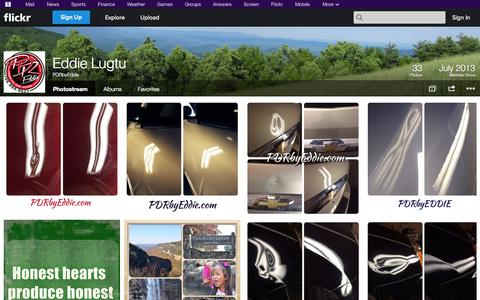 Screenshot of Flickr Page flickr.com - Flickr: PDRbyEddie's Photostream - captured Oct. 22, 2014