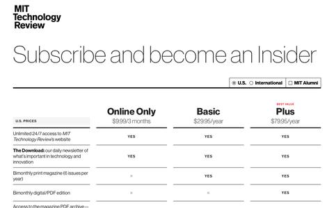 Insider Pricing - MIT Technology Review