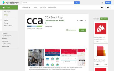 CCA Event App - Apps on Google Play