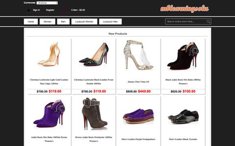 Screenshot of Home Page mblearningsolutions.co.uk - Attractive Ankle Boots,Sunglasses Cheap Sale Shoes,Pumps,Trainers - captured Sept. 21, 2018