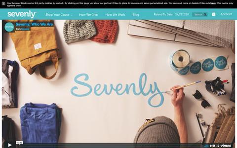 Screenshot of sevenly.org - How We Work                         – Sevenly - captured April 4, 2017