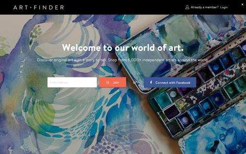 Artists | Discover and shop from independent artists at Artfinder | Artfinder