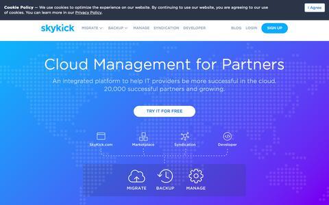 Cloud Management for Partners