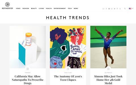 Heath Craze Trends - Medical News And Advances