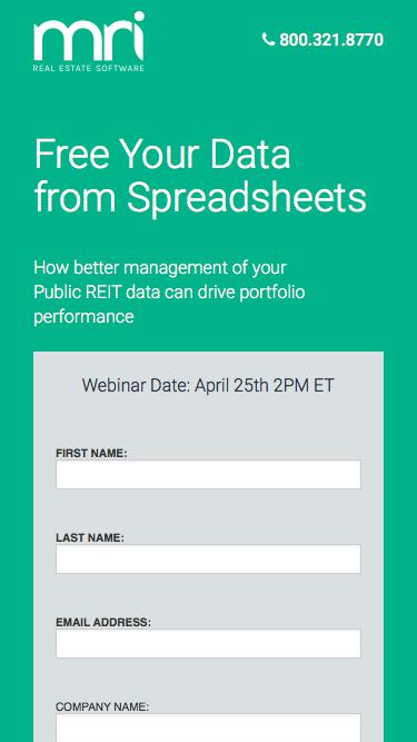 Free Your Data from Spreadsheets for Public REITs