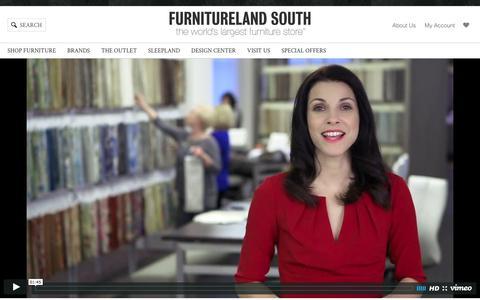 Screenshot of Jobs Page furniturelandsouth.com - Careers at Furnitureland South | Apply Today - captured Jan. 16, 2016