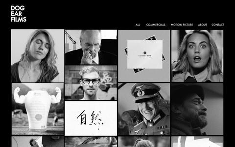 Screenshot of Home Page dogearfilms.com - Dog Ear Films | Dog Ear Films - captured Jan. 7, 2016