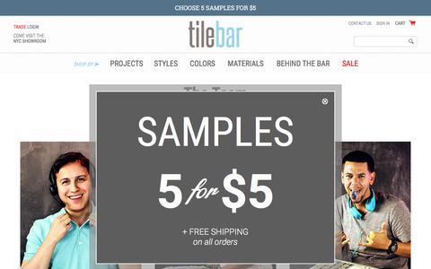 Screenshot of Team Page tilebar.com - Behind The Bar - captured Aug. 16, 2016