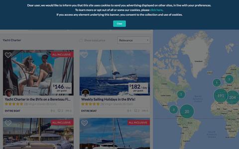 All Boating Holidays and Sailing Vacations | Antlos