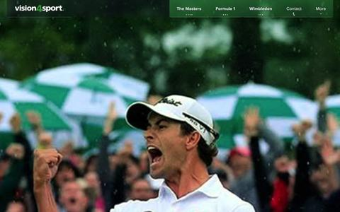 Screenshot of About Page vision4sport.com - About � Vision 4 Sport - captured Jan. 11, 2016