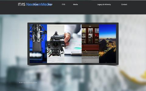 Screenshot of Home Page itisnextgen.com - itisnextgen - captured June 8, 2017