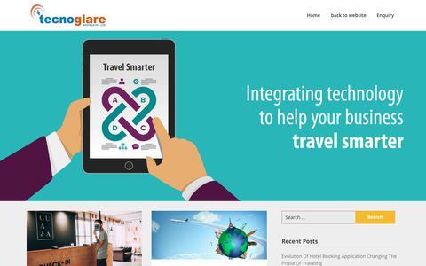 Screenshot of Blog tecnoglare.com - | Travel Portal Development in Delhi India - captured May 9, 2019