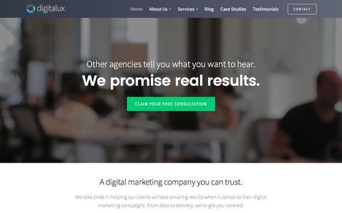 Digitalux: Digital Marketing Company & SEO Agency