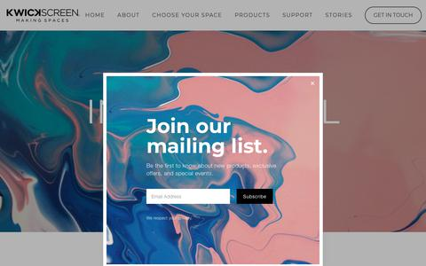 Screenshot of Terms Page kwickscreen.com - Intellectual Property — KwickScreen - captured Nov. 6, 2018