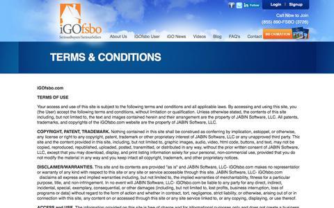 Screenshot of Terms Page igofsbo.com - iGOfsbo.com | - captured Oct. 18, 2017