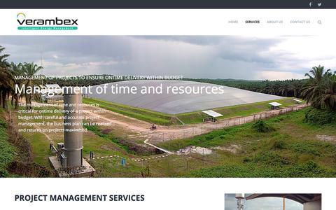 Screenshot of Team Page verambex.com - Project Management - Verambex - captured Nov. 5, 2017