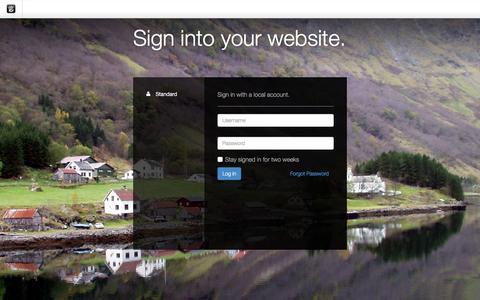 Screenshot of Login Page drgok.com - Delaware Resource Group :: Login - captured Dec. 7, 2015