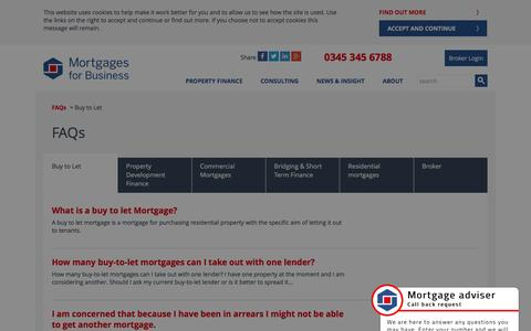(1) Buy to let mortgage FAQs | Mortgages for Business