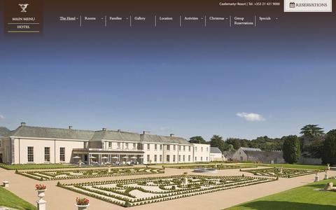 Screenshot of Contact Page castlemartyrresort.ie - Contact Castlemartyr Resort | Luxury Holidays Cork, Ireland - captured Sept. 29, 2014