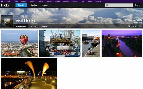 Screenshot of Flickr Page flickr.com - Flickr: Visit Bristol's Photostream - captured Oct. 23, 2014