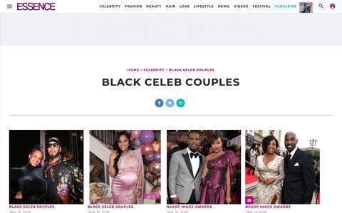 Black Celeb Couples | Essence.com