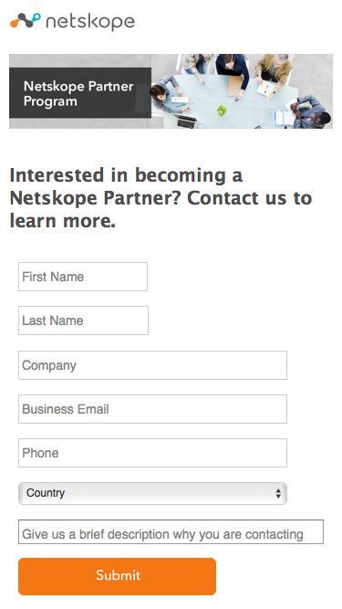 Contact Us - Netskope