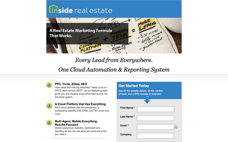 Real Estate Online Marketing   Inside Real Estate