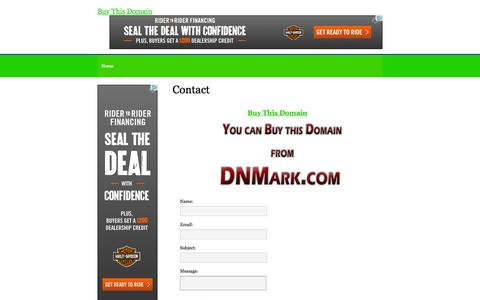 Screenshot of Contact Page visualboxsite.com - Contact - DNMark.com SELL - captured Feb. 15, 2016