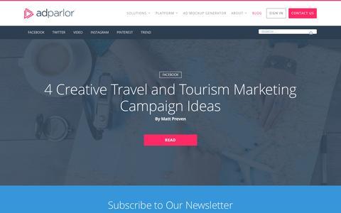 Screenshot of Blog adparlor.com - Blog | AdParlor - captured Nov. 20, 2016