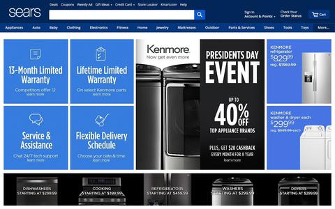 Sears - Online & In-Store Shopping: Appliances, Clothing & More