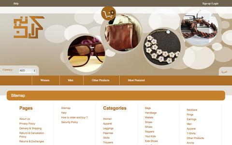 Screenshot of Site Map Page crateen.com - Sitemap - Crateen - Hidden Smile in Every Box - captured Sept. 19, 2014