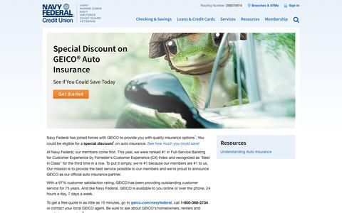 GEICO Auto Insurance | Navy Federal Credit Union