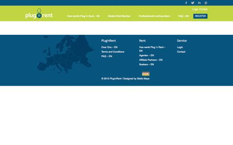 Screenshot of Login Page plugnrent.com - Login | Plug'nRent - captured Sept. 30, 2014