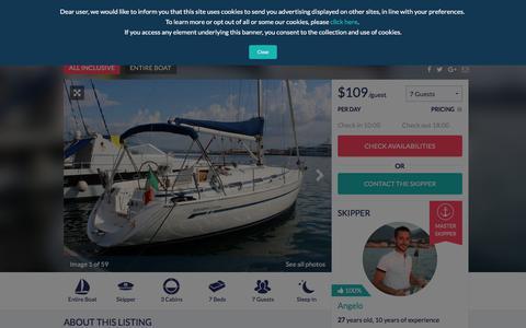 Sailing Yacht in Sorrento & Amalfi Coast in Italy | Antlos