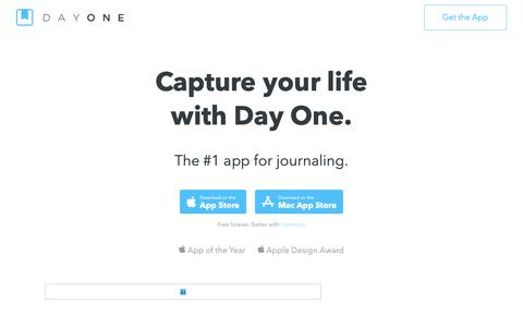Screenshot of Blog dayoneapp.com - Blog – Day One - captured March 17, 2019