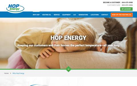 Screenshot of About Page hopenergy.com - Why Our Team | HOP Energy - captured Dec. 13, 2018